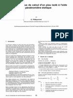calcul d'un pieu isolé par pénétromètre statique.pdf