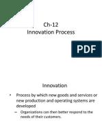 Ch-12 Innovation and Entrepeneurship