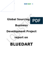 Projec on Bluedart