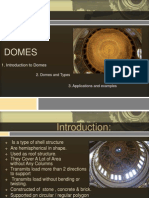 Dome Structure Ppt