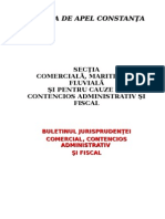 Buletinul Jurisprudentei Com Si CA 2008