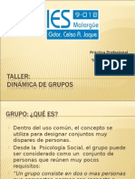 Taller Dinamica de Grupos