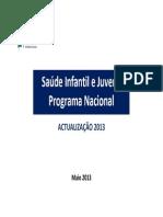Programa Nacional de Saúde Infantil e Juvenil 2013 - Atualização