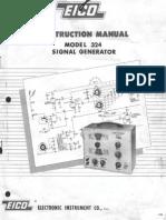 Eico 324 Construction Manual