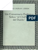 Chile, Comentario Estilístico del Chiflón del Diablo (Carbón de Lota)