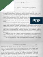 Chile, Estudio de la Zona Carbonífera