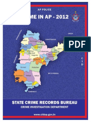 Crime in AP - 2012 pdf | Police | Surveillance