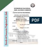 informe MAPEO GEOLOGICO DE LA ZONA DE YANAMATE- PASCO-PERU