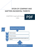 Chapter 2 -Companies Act