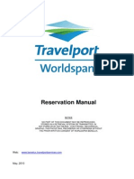 402 Worldspan Reservation and Pricing May 2010