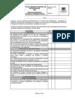 GCF-FO-315-018 Lista de Chequeo Esterilizacion
