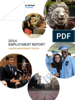 ColumbiaBusinessSchool 2014 Employment Report