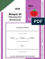 4to Grado - Bloque 3 - Español
