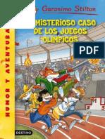 El Misterioso Caso de Los Juegos Olimpic - Geronimo Stilton