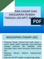 Anggaran Dasar & Anggaran Rumah Tangga (03)
