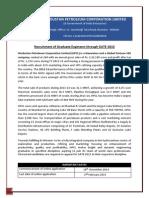 Hindustanpetroleum.com Documents PDF HPCL GATE 2015