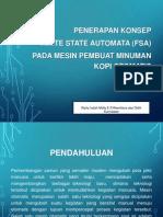 Penerapan Konsep Finite State Automata (Fsa) Tugas Bu Tanti
