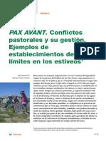 PAX AVANT Conflictos Pastoralismo-RevistaForesta53-2011