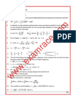 AIEEE Paper 2002 Answers