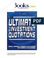 The Ultimate Book of Investment Quotations