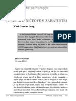 Karl Gustav Jung - Seminar o Ničeovom Zaratustri, Dio VII