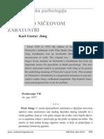 Karl Gustav Jung - Seminar o Ničeovom Zaratustri, Dio XI