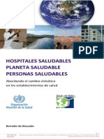Hospitales Saludables