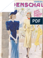 Modenschau Mai 1938