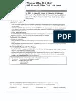General Canon printer setup manual