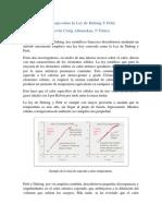 Ley de Dulong y Petit