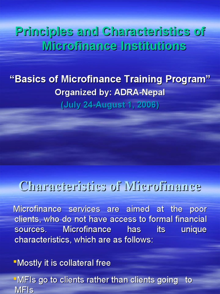 a study of the microfinance institutions essay How to write microfinance dissertation by micro financing institutions microfinance dissertation can make a very field of study in just.