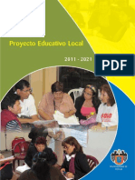 Proyecto Educativo Local Comas al 2021