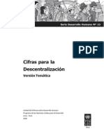 Cifras Para Descentralizacion