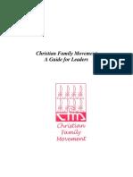 Christian Family Movement Manual