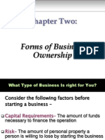 Chapter 02 - Forms of Business Ownership