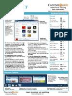 Windows 7 Cheat Sheet