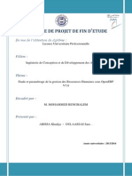 gestion des Ressources Humaines sous OpenERP V7.0