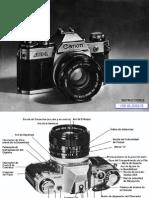 Manual Canon AE-1 Español