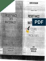 Resistance Des Materiaux Schaum Tome 1