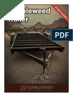 Tumbleweed Trailer Study Plans