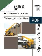 Dl9 44 Telescopic Handler Operator's Manual