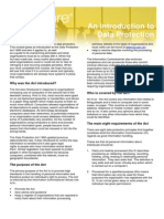 An Introduction to Data Protection - Module 1