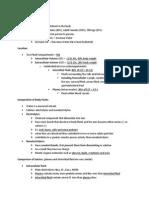 Fluid, Electrolyte, Acid-Base Balanace
