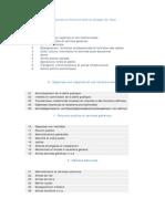 Nomenclature Fonctionnelle Du Budget de l'Etat