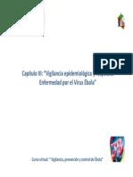Cap III Tema i Vigilancia Epidemiologica de La Enfermedad Por El Virus Ebola