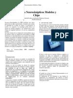Sistemas Neurosinapticos Modelos Chips y Aplicaciones