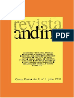 Alfredo Torero Procesos Lingüísticos e Identificación de Dioses en Los Andes Centrales