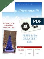 Christmas Newsletter