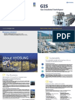 Gas Insulated Switchgear Catalog