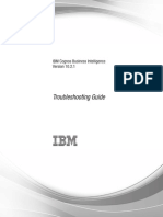 IBM Cognos Business Intelligence Version 10.2.1 Troubleshooting Guide